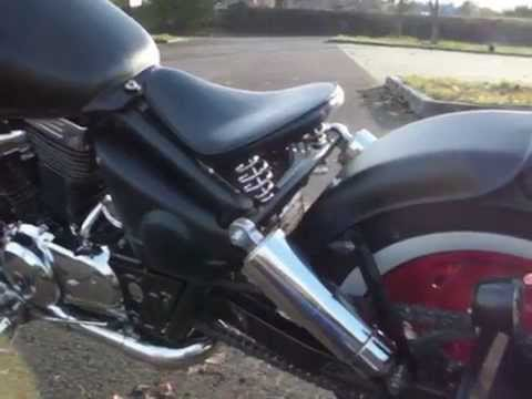 bobber suzuki vz 800 marauder youtube. Black Bedroom Furniture Sets. Home Design Ideas