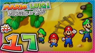 Mario & Luigi: Partners In Time - Part 17: The Ultimate Kamehameha Wave!