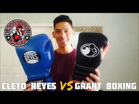 Grant Pro Training Gloves VS Cleto Reyes- COMPARISON REVIEW/ MEXICAN LEGENDS!