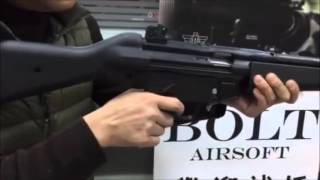 Bolt Airsot MB5 BRSS Recoil Test