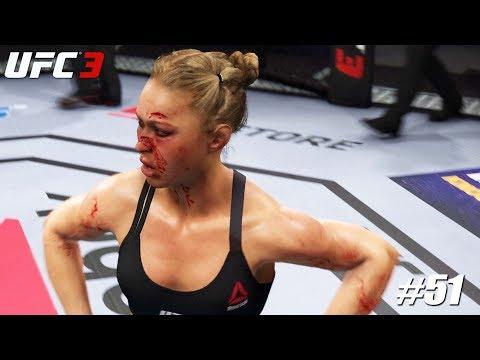 EA Sports UFC 3 - PS4 Pro 1080p 60fps Match / Ronda Rousey Vs Valentina Shevchenko #51