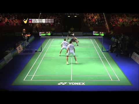 V. Ivanov/I. Sozonov vs M. Conrad-Petersen/M. P. Kolding | MD F Match 5 - Yonex German Open 2015