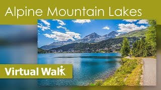 Virtual Walk Alpine Mountain Lakes - Scenery Of St Moritz And Lugano