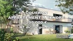 COUERON - APPARTEMENT A VENDRE - 205 000 € - 47 m² - 2 pièces