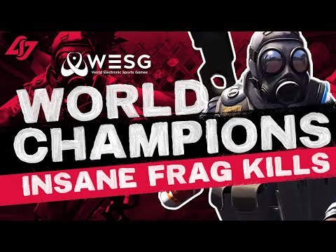 CS:GO - WORLD CHAMPIONS WIN $60K | CLG Red Fragmovie
