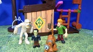 SCOOBY DOO Mega Trap Building Kit a Scooby Doo Trap Time Toys Video Parody