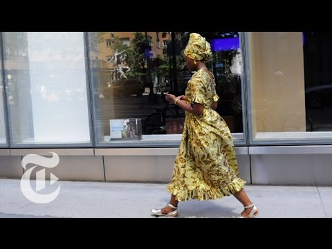 Streets Paved in Gold | On the Street w/ Bill Cunningham | The New York Times