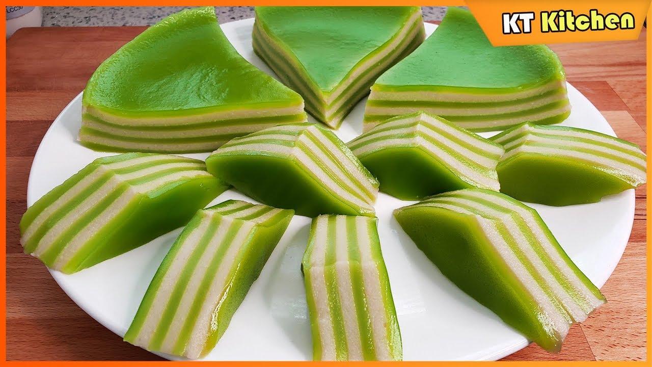 BEST Steamed Layers Cake RECIPE – Cách Làm BÁNH DA LỢN Ngon Dai Dẻo Nhanh Gọn Nhất – ENGLISH CAPTION