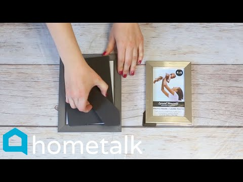 9 Clever Dollar Store Picture Frame Ideas | Hometalk