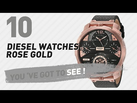 Top 10 Diesel Watches Rose Gold // New & Popular 2017