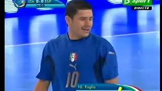 Final Europeo Fútbol Sala 2007 España Italia