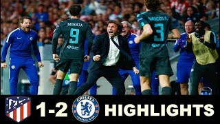 Chelsea vs Atletico Madrid 2-1  All Goals & Extended Highlights -Champions League  27/09/2017