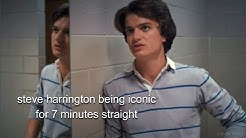steve harrington being iconic for 7 minutes straight