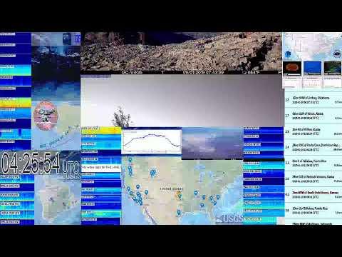 Live Monitoring Hurricanes, Earthquakes, Volcanoes, Solar, Weather & Wind USA USGS IRIS SWARM