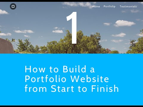 How to Build a Portfolio Website from Start to Finish - Planning our Website