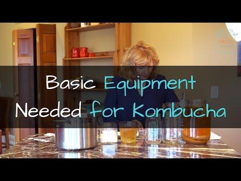 Basic Equipment You Need to Make Kombucha