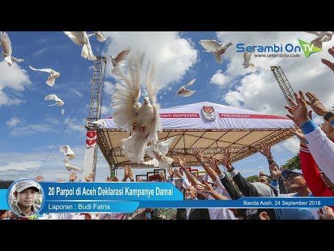 20 Parpol di Aceh Deklarasi Kampanye Damai Mp3