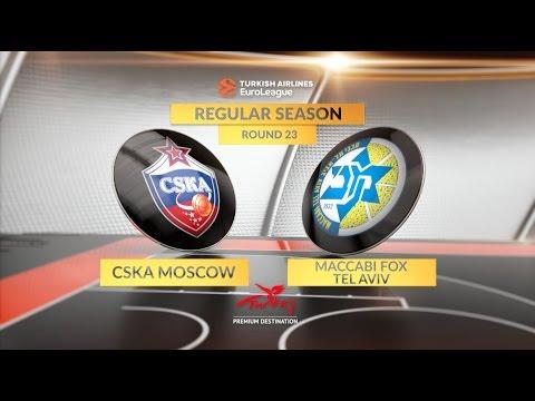 29 очков де Коло помогли ЦСКА обыграть «Маккаби» в Евролиге