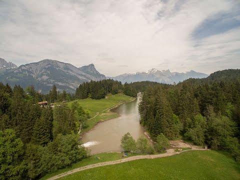 Luftaufnahme Chapfensee Mels SG, Schweiz