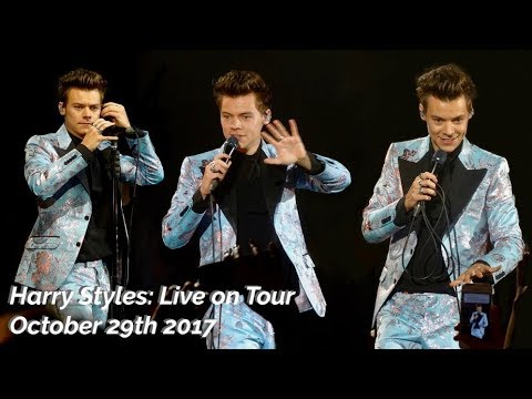 HARRY STYLES LIVE ON TOUR VLOG / 29TH OCTOBER 2017