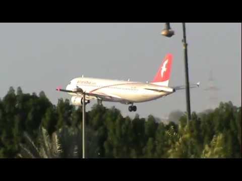 air arabia landing - Sharjah International Airport