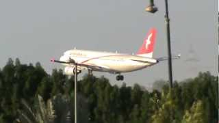 air arabia landing - Sharjah International Airport