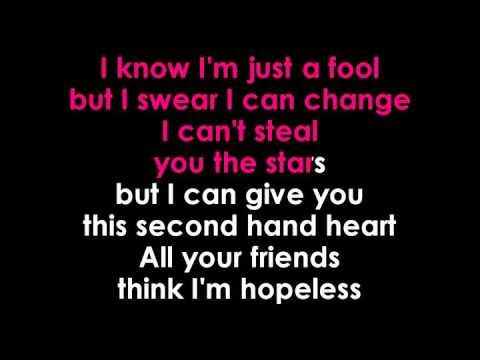 Ben Haenow & Kelly Clarkson   Second Hand Heart   karaoke