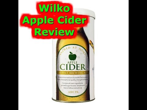 Wilko Apple Cider Review #99 Homebrew Beer Wine Spirits