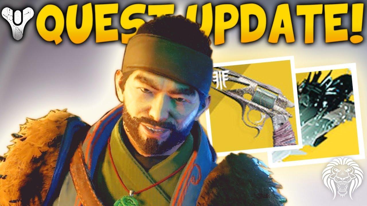 Download Destiny 2: NEW QUEST & UNOBTAINABLE EXOTICS! Vendor Change, Hidden Nerf, Malfeasance & Cheese Fix