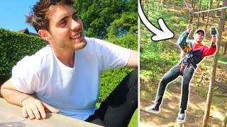 CRAZY SWING IN THE WOODS!