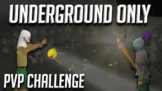 We could only gear up UNDERGROUND... Then we fight