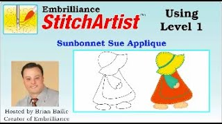 StitchArtist Level 1 Sunbonnet Sue