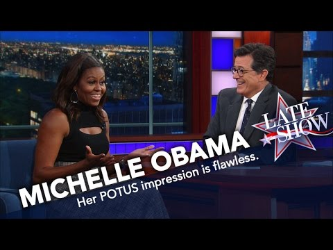 Thumbnail: First Lady Michelle Obama Does Her Best Barack Impression