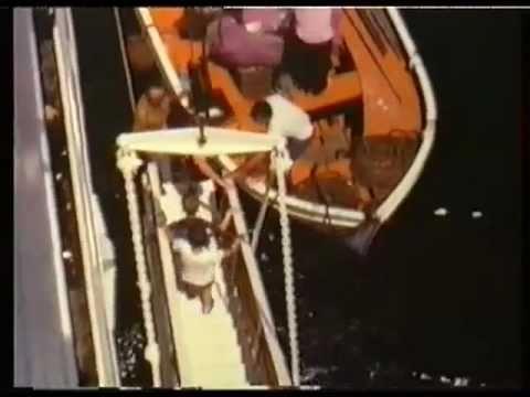 """Westwaarts naar de Tropen: met het KNSM schip """"Prins der Nederlanden"""" naar Curaçao. (DL1)"""