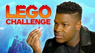 Pacific Rim Uprising Cast Take Ultimate LEGO Challenge