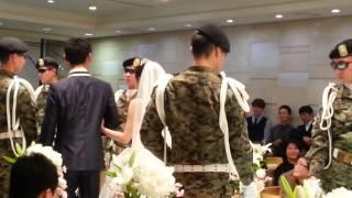 직업군인조카의 결혼식