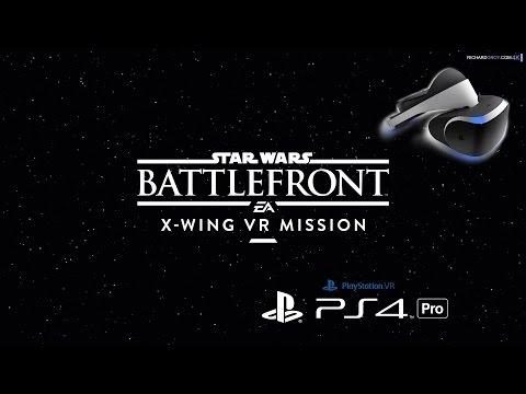 PSVR X-WING VR MISSION -  STAR WARS™ Battlefront™ - 60 fps PS4 PRO - Español ★Gameplay
