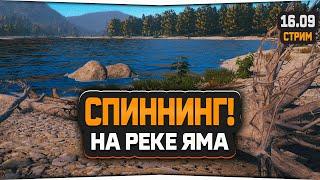 Русская Рыбалка 4 Стрим на реке Яма Спиннинговый Форумный турнир