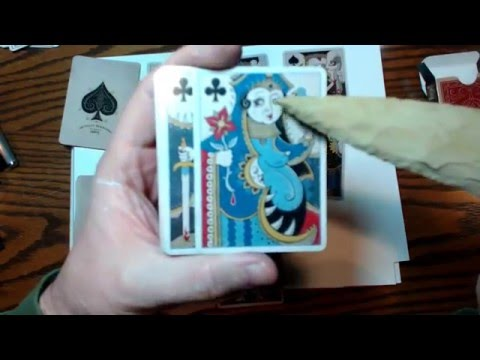 #071 Patrick Valenza's Royal Mischief Playing Cards