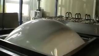 Термо-вакуумная формовка заготовки из пластика абс.Thermo-vacuum forming of a workpiece of abs(, 2015-01-11T20:54:25.000Z)