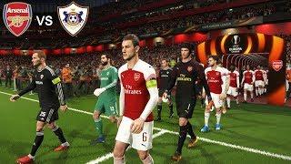 Arsenal vs Qarabag - Europa League 13 December 2018 Gameplay