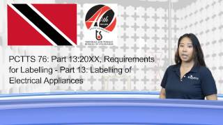 SIEMIC News -  Trinidad and Tobago Issue New Electrical Appliance Labeling Requirements