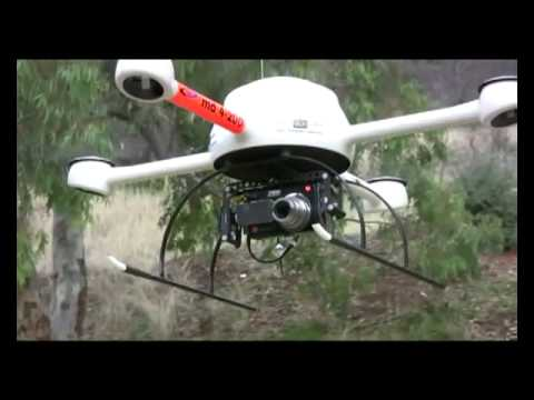 Microdrone power line inspection demonstration by APS (DRONES FOR SALE) www.UAVDronesForSale.com