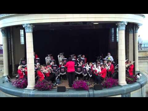 'Swinging Safari' played by Heathfield Silver Band, Eastbourne 2014