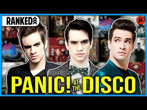 Every Panic! At The Disco Album Ranked WORST to BEST