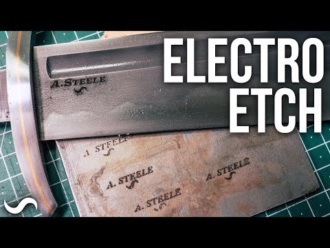 ELECTRO-ETCHING A TOUCHMARK!!!