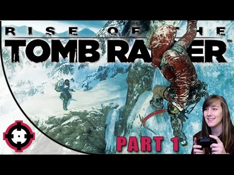 Rise of the Tomb Raider Gameplay // Part 1 - How Cool is thi