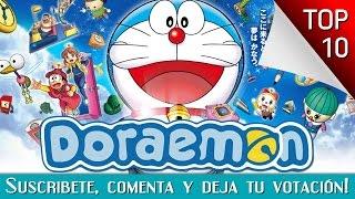 Las 10 Mejores Peliculas De Doraemon