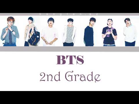 BTS - 2nd/Second Grade [Color coded|Han|Rom|Azerbaijan sub]
