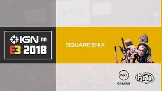 E3 | Conferência Square Enix 2018 ao vivo dublado português | IGN NA E3